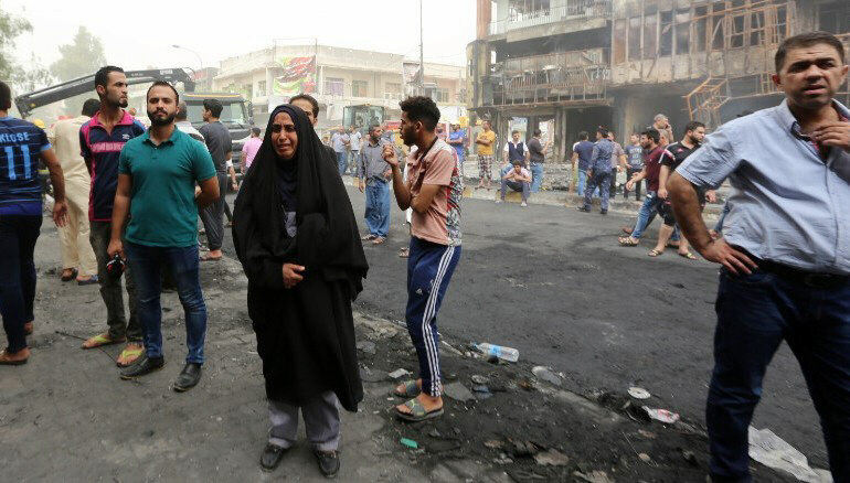 126 killed including 25 children in ISIS attacks on Baghdad