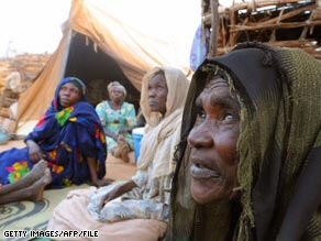 2.5 million have been forced from their homes in Darfur