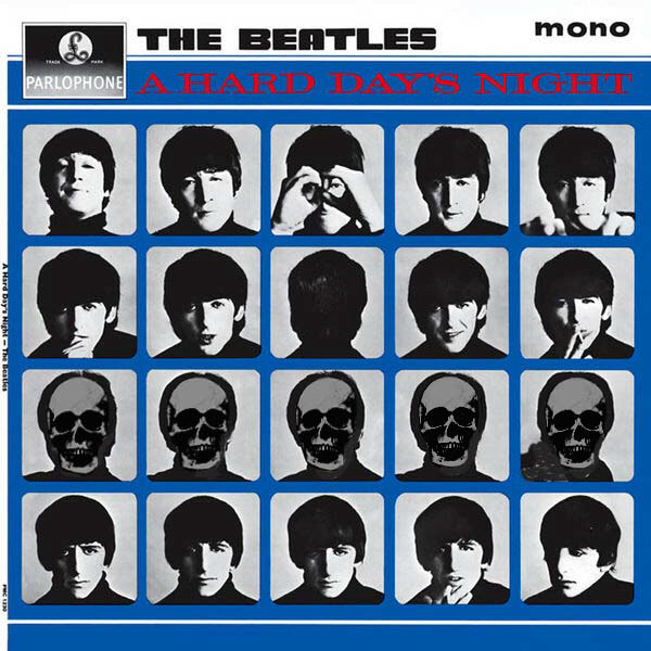 A Hard Day's Night cover with very dead Paul