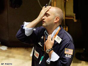 A trader sums up the atmosphere on the floor