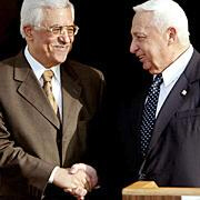 Palestinian Authority Mahmoud Abbas and Israeli Prime Minister Ariel Sharon appear to have a genuine like for each other