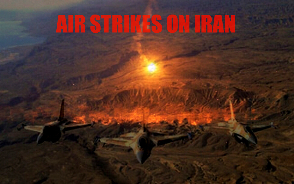 Air strikes on Iran