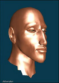 Reconstruction of Akhenaten