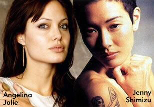 Angelina Jolie and Jenny Shimizu: ex-lover says Jolie dabbling with the dark side of sex