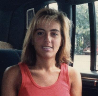 A photo of Terri Schiavo before whatever caused her brain damage 1990.