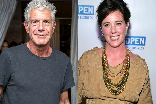 Anthony Bourdain and Kate Spade found hanged