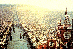 Adolf Hitler and the Nazi spectacular of 1934