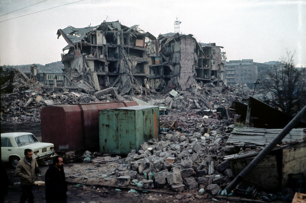Armenian earthquake of 1988