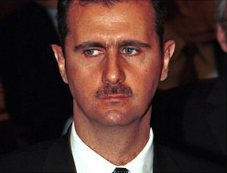 "Click here for the ""Bashar Al-Assad: Alus Sanguinaire"" page."