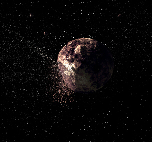 Asteroid 2010 GU21, half the size of Toutatis, passed close to earth in late April and will come dangerously closer on November 8, 2011
