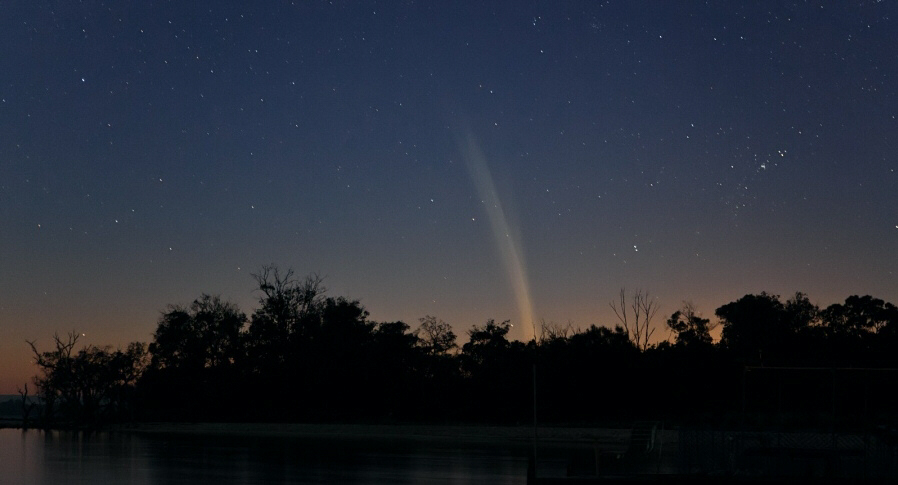 Australian photographer Colin Legg captured this photograph of Comet Lovejoy