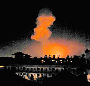 Bombing blast in Bali