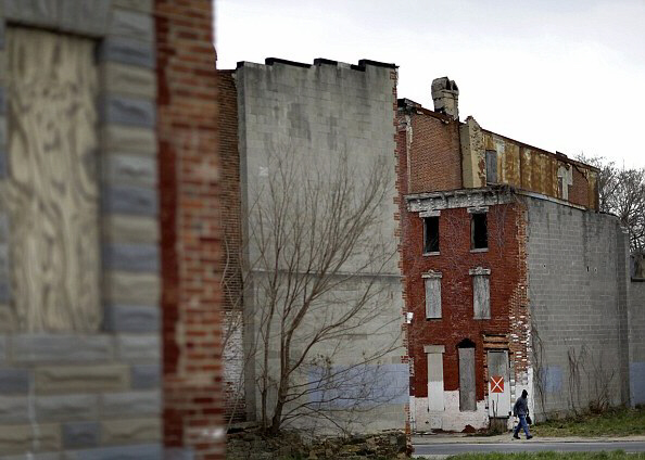 Baltimore has 15,000 vacant and abandoned structures