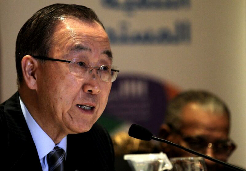 Ban Ki-Moon killed in plane crash