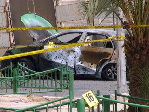 Barrage of rockets killed taxi driver in Jordan's Aqaba port