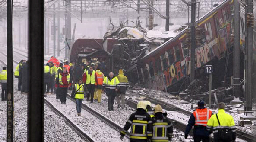 At least 25 passengers are dead and over 100 injured in the worst train disaster in Belgium's history