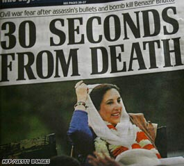 Bhutto in British newspaper