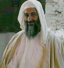 Terrorist leader Osama bin Laden