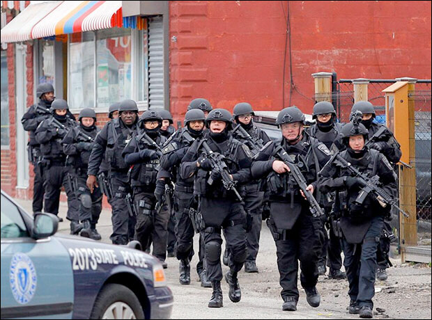 SWAT gestapo move to next house
