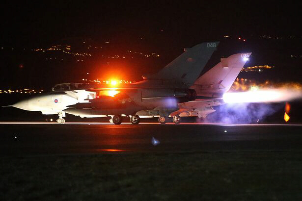 Britain begins airstrikes on ISIS targets