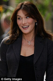 Carla Bruni says 'Let them eat cakes!'
