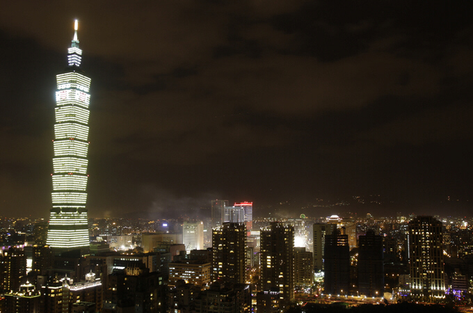 Buildings in Taipei were rocked by the earthquake