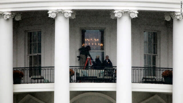 Bullet is believed to have hit exterior window on south side of White House