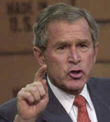 Bush may be proven to be a Washington heretic by the CIA
