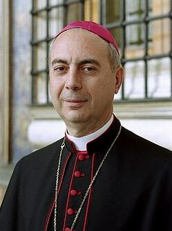 Cardinal Dominique Mamberti