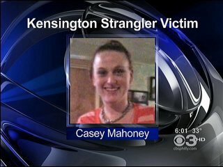 Casey Mahoney, the strangler's third victim