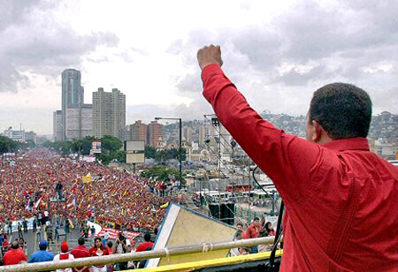 Chavez threatens Colombia and the United States