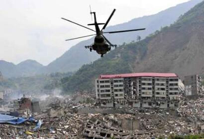 China earthquake: Land of the dead