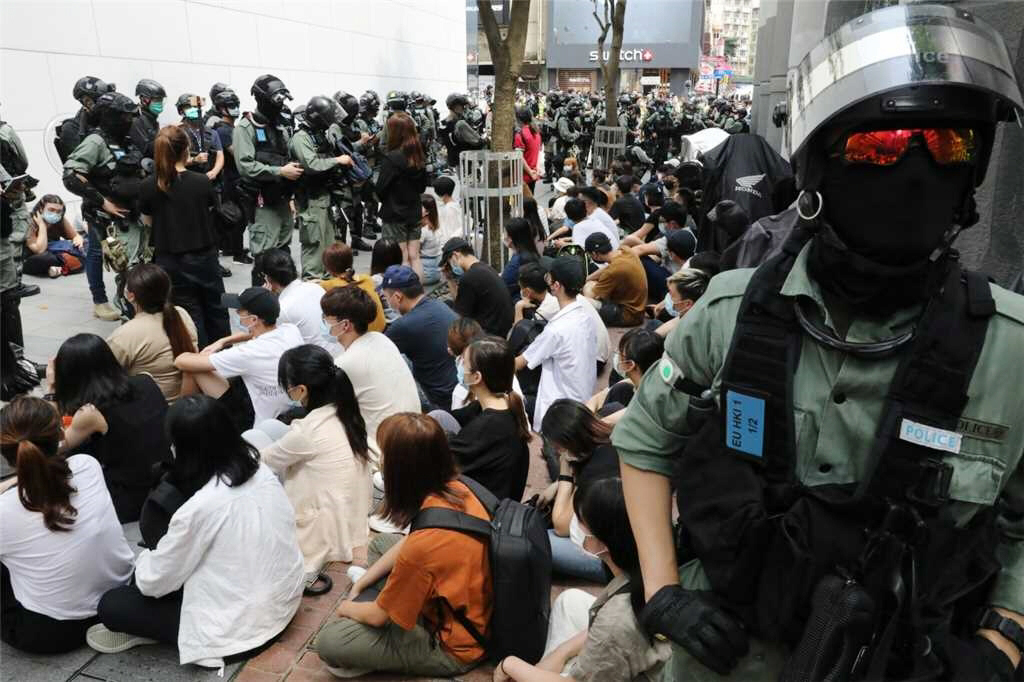 China's massive crackdown of Hong Kong