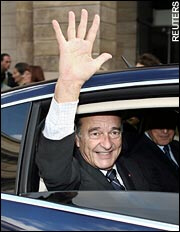 Chirac has surprised many with his improved popularity ratings
