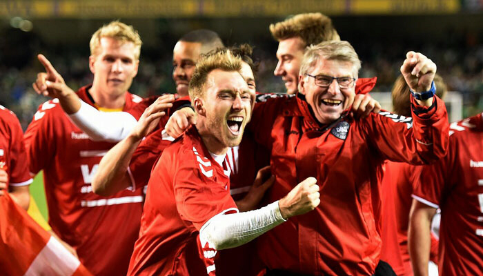 Christian Eriksen takes Denmark to 2018 FIFA World Cup