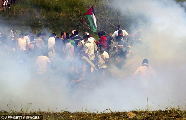 Clashes erupted along the Israel border with Syria
