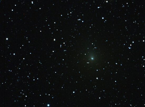 Comet Hartley 2 will appear a pale green as it brightens, reaching its closest point to Earth on October 20.