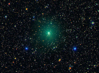Comet Hartley 2 on September 20, 2010. When the comet comes to its closest point to Earth, 11 million miles, it will be visible to the naked eye and the size of the full moon.