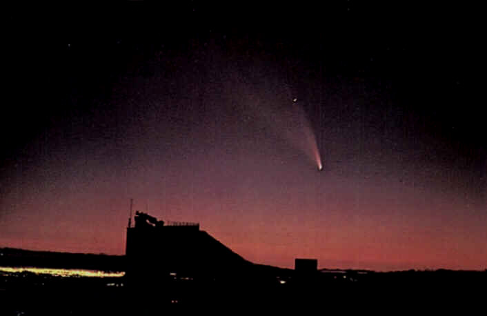 Comet West, 1976, appears here for imaging purposes only.