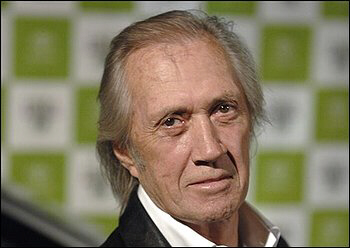 Actor David Carradine at an entertainment awards show in Los Angeles in 2006