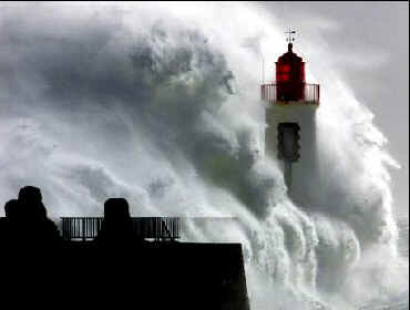 Deluge hits coast of France
