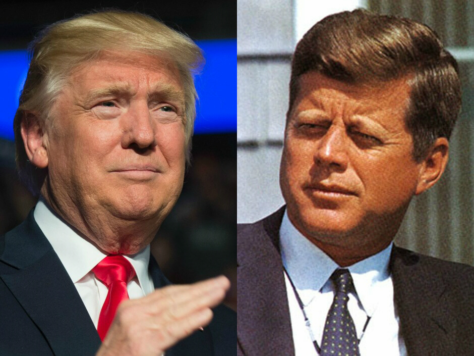 Donald Trump-John F. Kennedy