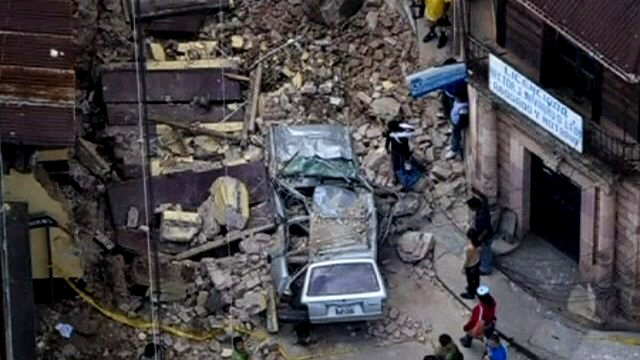 Dozens of aftershocks, dozens killed by Guatemala quake