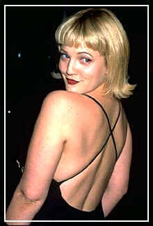 Actress Drew Barrymore