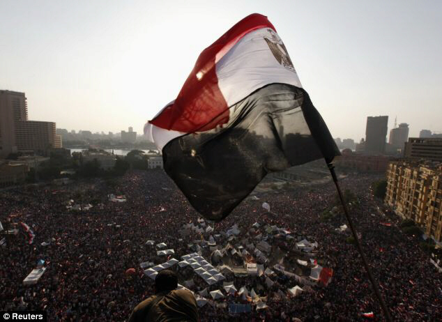 Egyptians poured onto the streets, demanding that Mursi resign