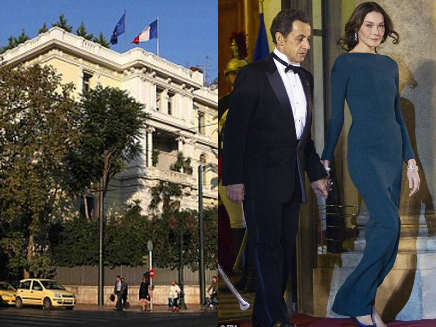 French embassy targeted by terrorists; Nicolas Sarkozy and his wife Carla Bruni are hated