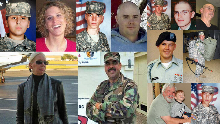 The Fort Hood shooting victims