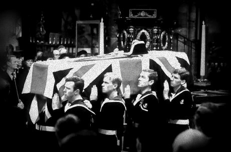 Funeral of British royal family member
