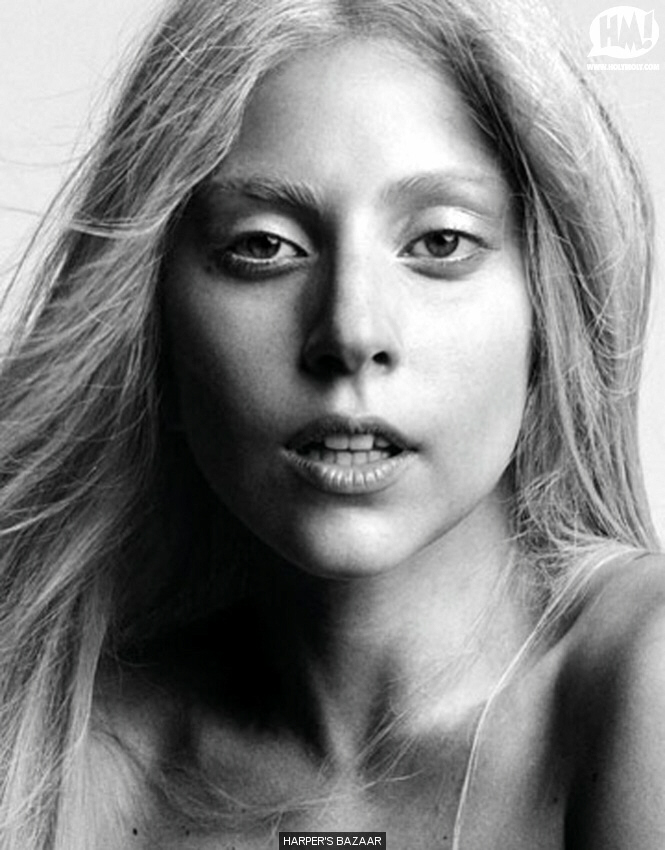 Gaga - no makeup