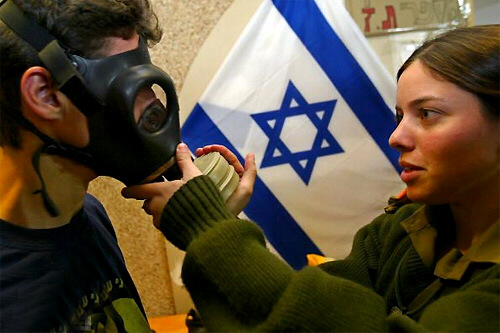 Gas masks in Israel being readied for Iranian missile strikes